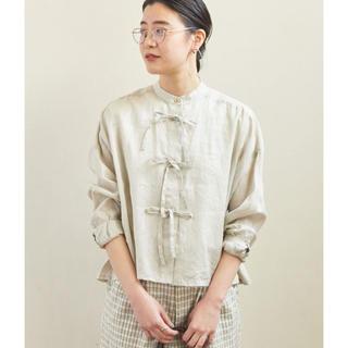 フィグロンドン(fig London)のfigLondon リボンシャツ(シャツ/ブラウス(長袖/七分))