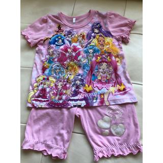 バンダイ(BANDAI)の勇気がでる!プリキュア 光るパジャマ 中古 110(パジャマ)