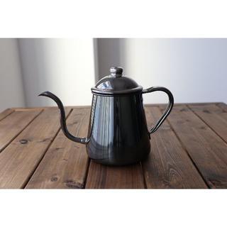 タカヒロドリップコーヒーケトル 黒発色 ケトル(調理道具/製菓道具)