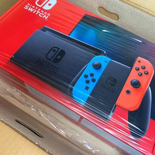 Nintendo Switch - 任天堂Switch本体 ネオン 新モデル 2020年7月購入 店舗印なし