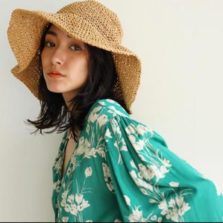 シールームリン(SeaRoomlynn)のSea Room lynn♡ラフィアハット(麦わら帽子/ストローハット)
