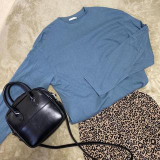 ジーユー(GU)のGU ロングTシャツ(Tシャツ(長袖/七分))