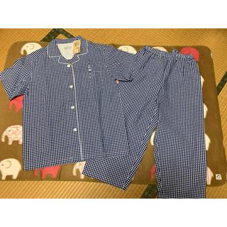 ムジルシリョウヒン(MUJI (無印良品))の脇に縫い目のないサッカーパジャマ♡タグ付き(パジャマ)
