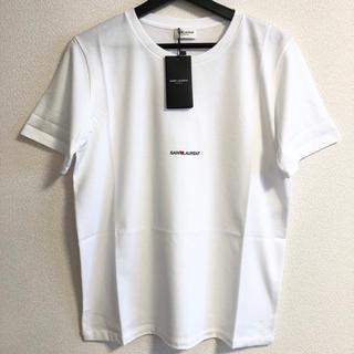 Saint Laurent - 100%本物 新品タグ付き SAINT LAURENT Tシャツ白 サンローラン