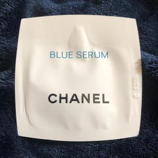シャネル(CHANEL)のCHANEL ブルーセラム サンプル(美容液)