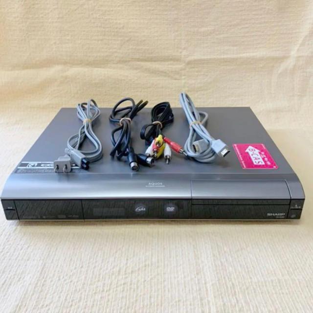 SHARP(シャープ)のDVDレコーダー『AQUOS(DV-AC82)』250GB スマホ/家電/カメラのテレビ/映像機器(DVDレコーダー)の商品写真