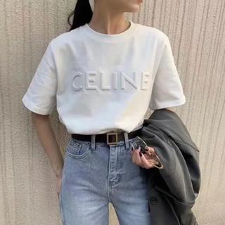 【在庫処分のため大幅値下げ】ロゴ Tシャツ ユニセックス  韓国 刺繍