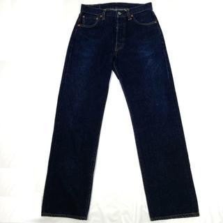 リーバイス(Levi's)の濃紺 リーバイス 501XX 米国製 バレンシア工場 復刻 デニム W30(デニム/ジーンズ)