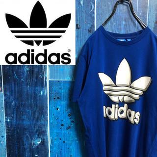 アディダス(adidas)の【アディダスオリジナルス】トレフォイルビッグロゴプリントTシャツ(Tシャツ(半袖/袖なし))