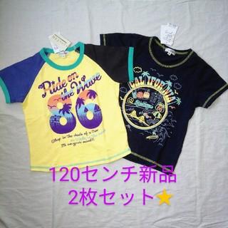 エニィファム(anyFAM)のanyFAM 半袖Tシャツ 120センチ2枚(Tシャツ/カットソー)