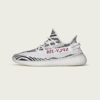 アディダス(adidas)の【新品】adidas yeezy boost 350 v2 zebra ゼブラ(スニーカー)