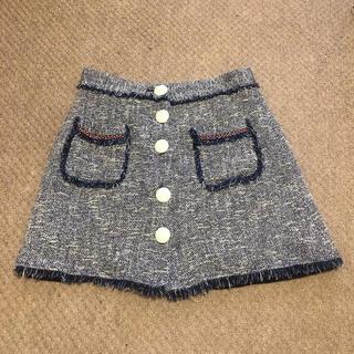 ZARA - ザラ マリン風 ツイード スカート