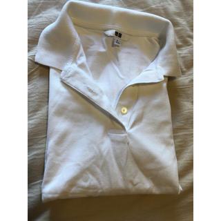 ポロシャツ(白)