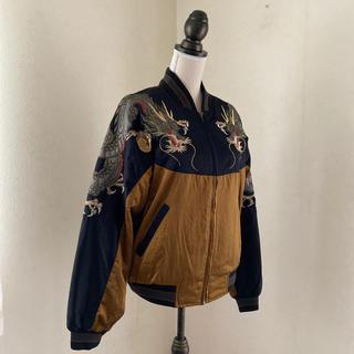 龍刺繍 フライトジャケット(フライトジャケット)
