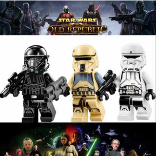 レゴ  LEGO 互換 スターウォーズ ミニフィグ 人形 3体セット
