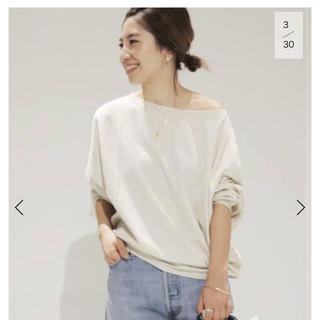 Plage - Plage 【R'IAM】FEMININE LONG Tシャツ◆