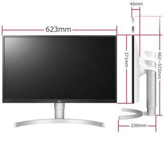 エルジーエレクトロニクス(LG Electronics)のLGエレクトロニクス 27UL550-W 4Kモニター 2020年3月製(ディスプレイ)