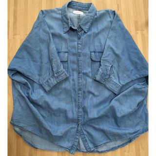 イーハイフンワールドギャラリー(E hyphen world gallery)のデニムシャツ フリーサイズ  羽織り(シャツ/ブラウス(長袖/七分))