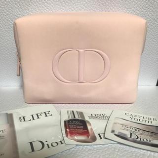 Dior - ディオール ポーチ ノベルティ サンプル付き