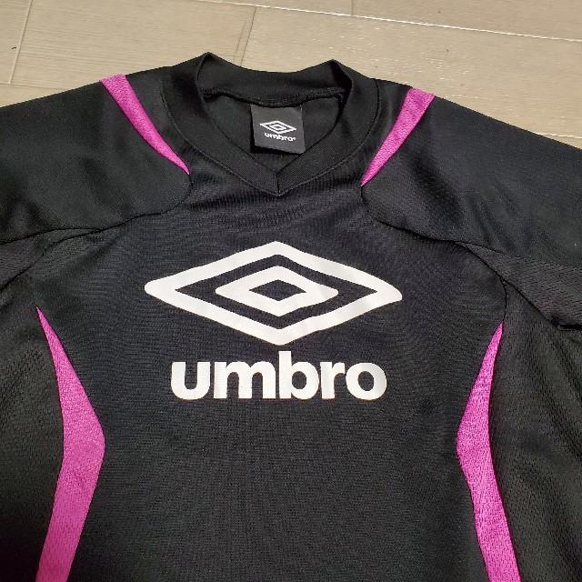 UMBRO(アンブロ)のアンブロ サッカーウェア スポーツ キッズ size130 スポーツ/アウトドアのサッカー/フットサル(ウェア)の商品写真