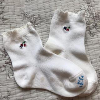 ファミリア(familiar)のファミリア 靴下 新品 12〜14センチ(靴下/タイツ)