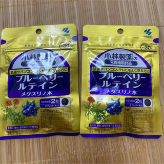 小林製薬 - 小林製薬栄養補助食品 ブルーベリー ルテイン メグスリノ木 30日分 2袋