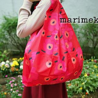 marimekko - 【数量限定】 マリメッコ エコバッグ 北欧 かわいい ウニッコ  花柄
