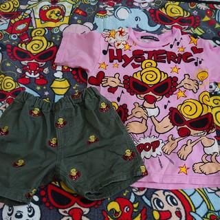 HYSTERIC MINI - Tシャツ 刺繍パンツ