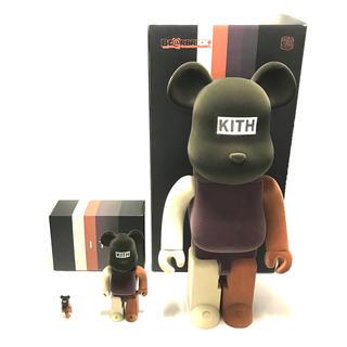 新品 KITH × BEARBRICK  100% & 400% & 1000%(その他)