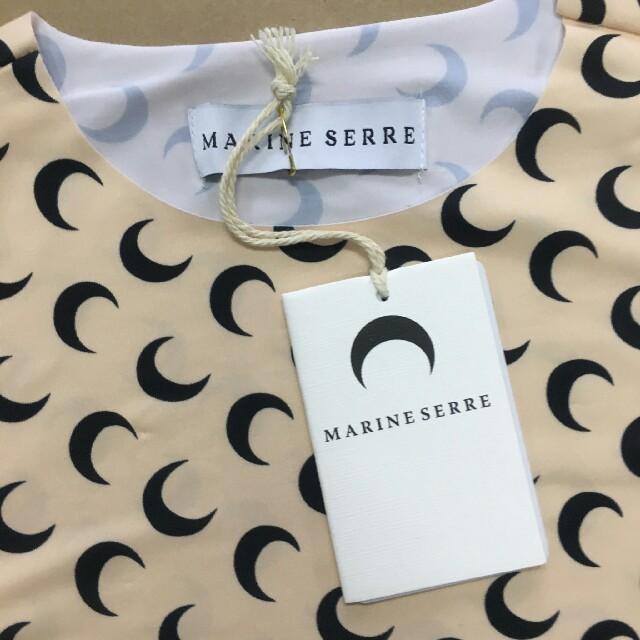 marine serre マリーンセル ムーントップス blackpink レディースのトップス(Tシャツ(長袖/七分))の商品写真