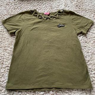 ジェニィ(JENNI)のJenni カーキTシャツ(Tシャツ/カットソー)