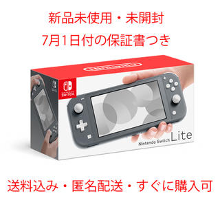 Nintendo Switch - Nintendo Switch Lite グレー