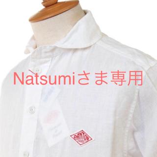 ダントン(DANTON)のDANTON 丸襟プルオーバーシャツ  メンズ 42 新品(シャツ)