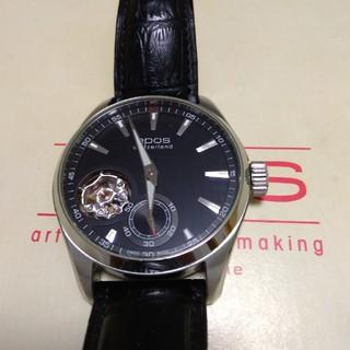 エポス(EPOS)のエポス オープンハート 裏スケルトン手巻き(腕時計(アナログ))