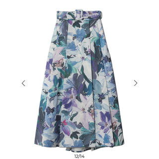 eimy istoire - eimy istoire  Grace flower ベルトスカート