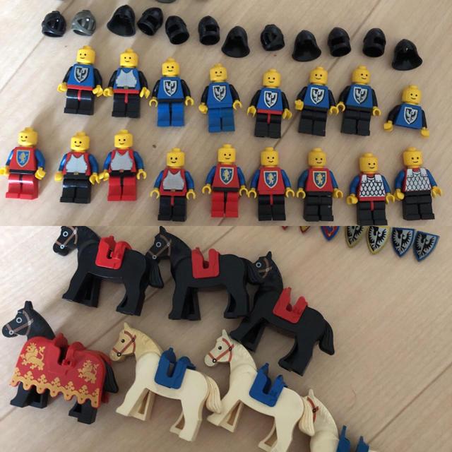 Lego(レゴ)のレゴLEGO ミニフィグ まとめ売り 武器パーツ有り キッズ/ベビー/マタニティのおもちゃ(知育玩具)の商品写真