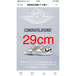 NIKE - Air Dior Low Jordan 1 OG 29cm 45