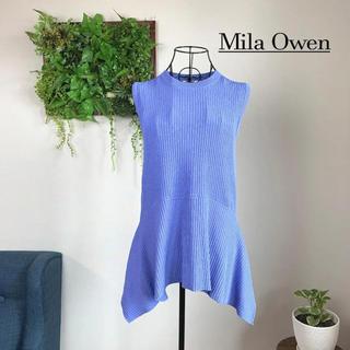 Mila Owen - 【美品】 Mila Owen ミラオーウェン ノースリーブニット