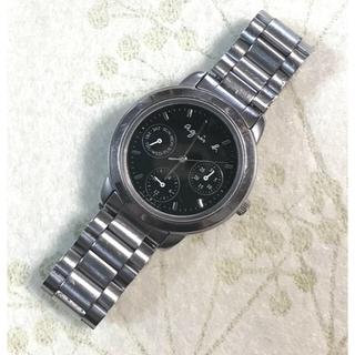 アニエスベー(agnes b.)のアニエスベー 腕時計 電池交換済み(腕時計)