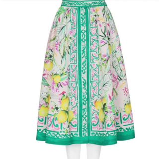 Chesty - 新品タグ付💚chesty レモンプリントスカート サイズ1