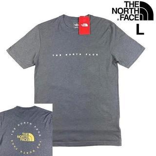 ザノースフェイス(THE NORTH FACE)の売切!ノースフェイス ハーフドームロゴ 半袖Tシャツ(L)グレー 180902(Tシャツ/カットソー(半袖/袖なし))