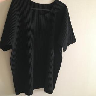 ISSEY MIYAKE - オーバーサイズ tシャツ HOMME PLISSE ISSEY MIYAKE