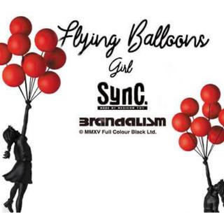 メディコムトイ(MEDICOM TOY)のSync. Flying Balloons Girl Red&Blackver.(彫刻/オブジェ)