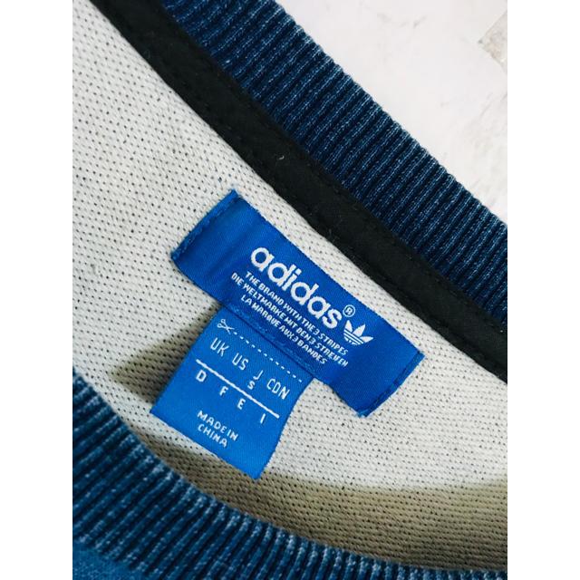 adidas(アディダス)の絶品美。極限定限定映えアディダスオリジナルス名作デニムスウェット FR2 Y-3 メンズのトップス(スウェット)の商品写真