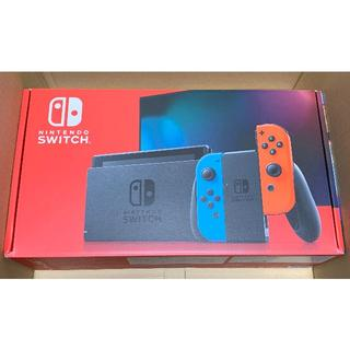 Nintendo Switch - ニンテンドースイッチ 本体 ネオンブルー・レッド 新モデル / 新品