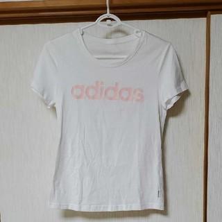 アディダス(adidas)のアディダス レディスTシャツ(Tシャツ(半袖/袖なし))
