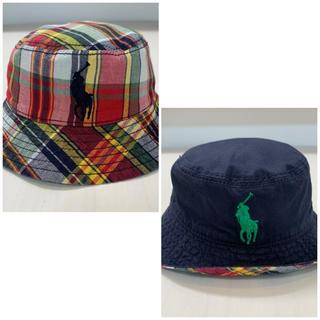 ラルフローレン(Ralph Lauren)のラルフローレン★リバーシブル 帽子 ハット(帽子)