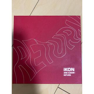 アイコン(iKON)のiKON 2ndALBUM RETURN(K-POP/アジア)