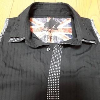 ピーピーエフエム(PPFM)の完全オリジナル★リメイクノースリーブシャツ ライブ衣装 コスプレなどに♪(シャツ)