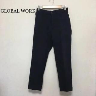 GLOBAL WORK - GLOBAL WORK ネイビー パンツ